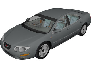 Chrysler 300M [+Interior] (1999) 3D Model