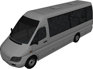 Mercedes-Benz Microbus 3D Model