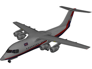British Aerospace BAe 146 Statesman 3D Model