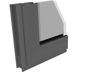 Window Frame Sample 3D Model