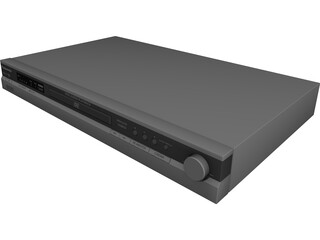 Panasonic DVD Player 3D Model
