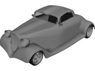 Ford Hot Rod 3D Model