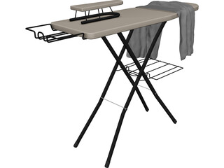 Ironing Board 3D Model 3D Preview