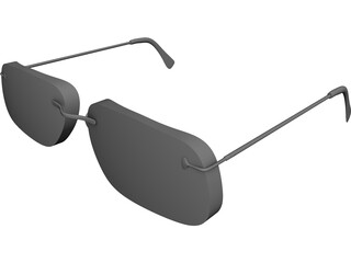 Carbon Glasses 3D Model