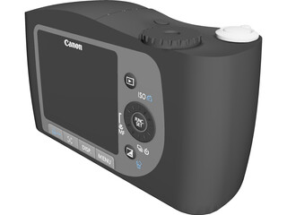 Canon SX120 IS Powershot 3D Model