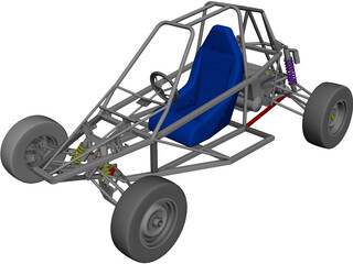 Buggy Off-road 3D Model