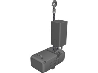 C.O.W. Chainhoist 1000kgs CAD 3D Model