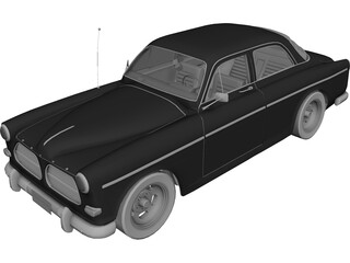 Volvo Amazon (1968) 3D Model 3D Preview
