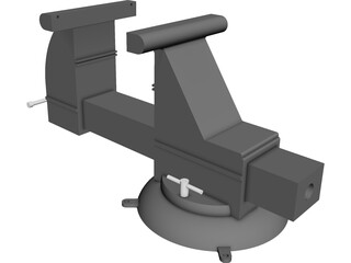 Bench Wise CAD 3D Model