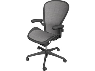 Herman Miller Aeron Chair 3D Model