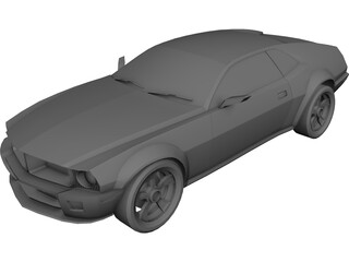 AMC Javelin (2010) 3D Model