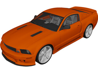 Ford Mustang Saleen S281 (2010) 3D Model