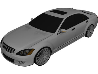 Mercedes-Benz S600 Brabus (2010) 3D Model
