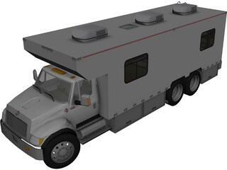 International DuraStar Continental (2011) 3D Model