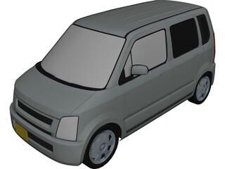 Suzuki Wagon R 3D Model