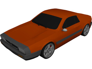 Lancia Beta Montecarlo 3D Model