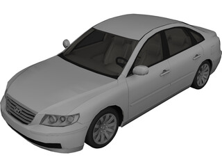 Hyundai Azera 3D Model