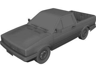 Volkswagen Saveiro 3D Model