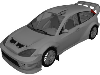 Ford Focus WRC (2003) 3D Model