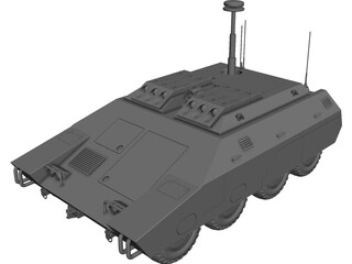 ARV Woodland Tank 3D Model 3D Preview