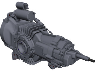 Mendeola 2D Transmission CAD 3D Model