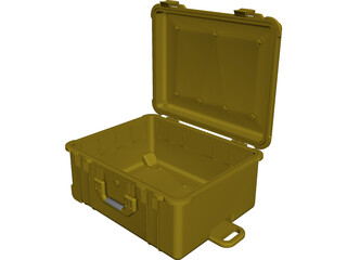 Pelican Case Model 1610 CAD 3D Model