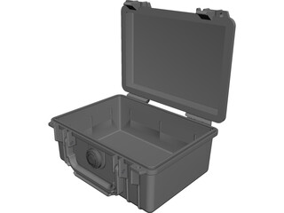 Pelican Case Model 1150 CAD 3D Model