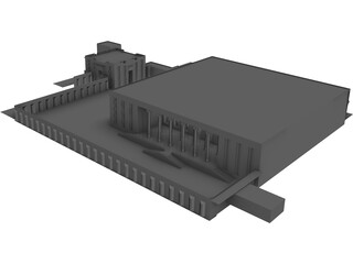 Persepolis Ancient City 3D Model