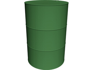 Barrel CAD 3D Model