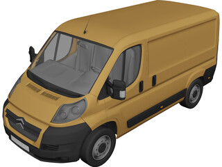 Citroen Jumper (2008) 3D Model