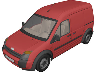 Ford Transit 3D Model 3D Preview