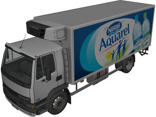 DAF Fridge 3D Model