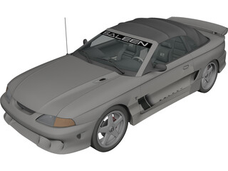 Ford Mustang Saleen 3D Model