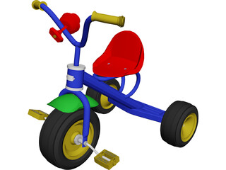 Tricycle 3D Model