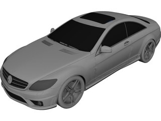 Mercedes-Benz CL65 AMG 3D Model