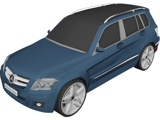 Mercedes-Benz GLK-Class 3D Model