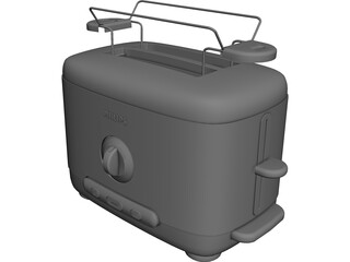 Philips Toaster 3D Model