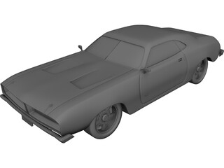 Dodge Charger RT (1969) 3D Model