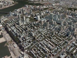 New York City, NYC, Brooklyn (USA) (2013) 3D Model