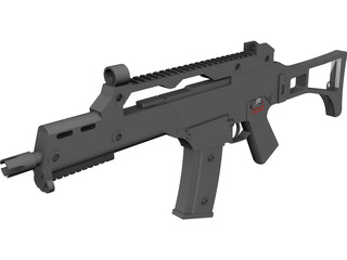 Heckler&Koch G36C 3D Model