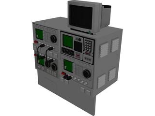 Electronics Equipment 3D Model