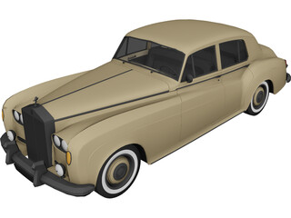 Rolls-Royce Silver Cloud 3D Model