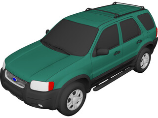 Ford Escape XLT (2001) 3D Model