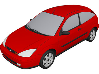 Ford Focus (2000) 3D Model