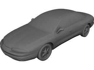 Oldsmobile Aurora (1995) 3D Model