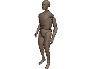 Crash Dummy 3D Model