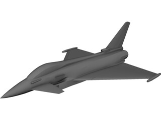 Eurofighter 2000 3D Model