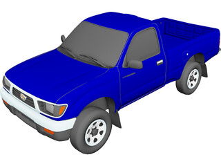 Toyota Tacoma (1996) 3D Model