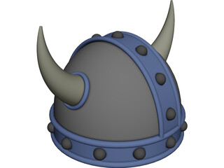 Viking Hat 3D Model