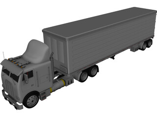 Freightliner 3D Model